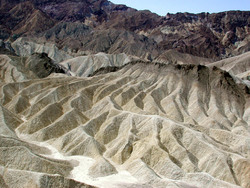 Erosion am Zabriskie Point