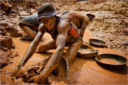 Coltan-Abbau im Kongo