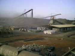 Kansanshi Mine in Sambia
