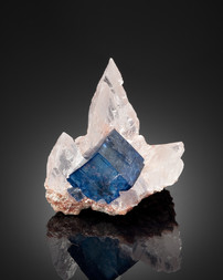 Halite on sylvite
