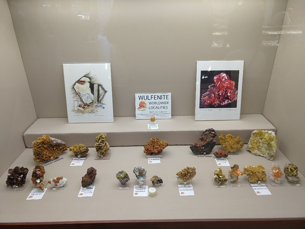 Wulfenite Worldwide Localities