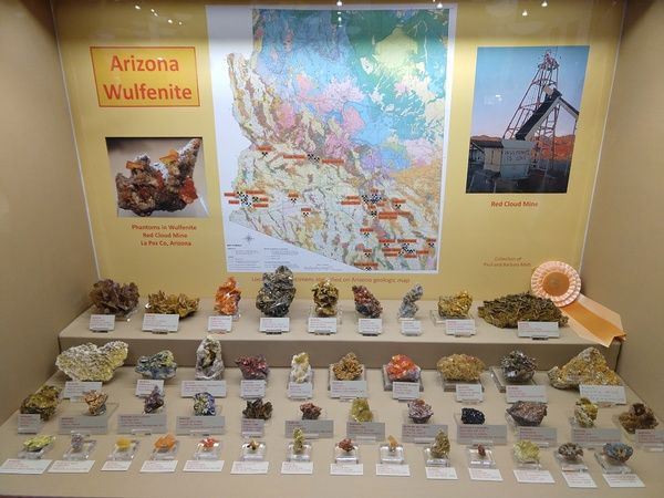 Arizona Wulfenite