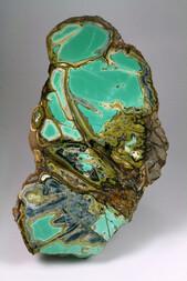 USA/Utah/Utah Co./Oquirrh Mts./Fairfield/Clay Canyon/Little Green Monster Variscite Mine