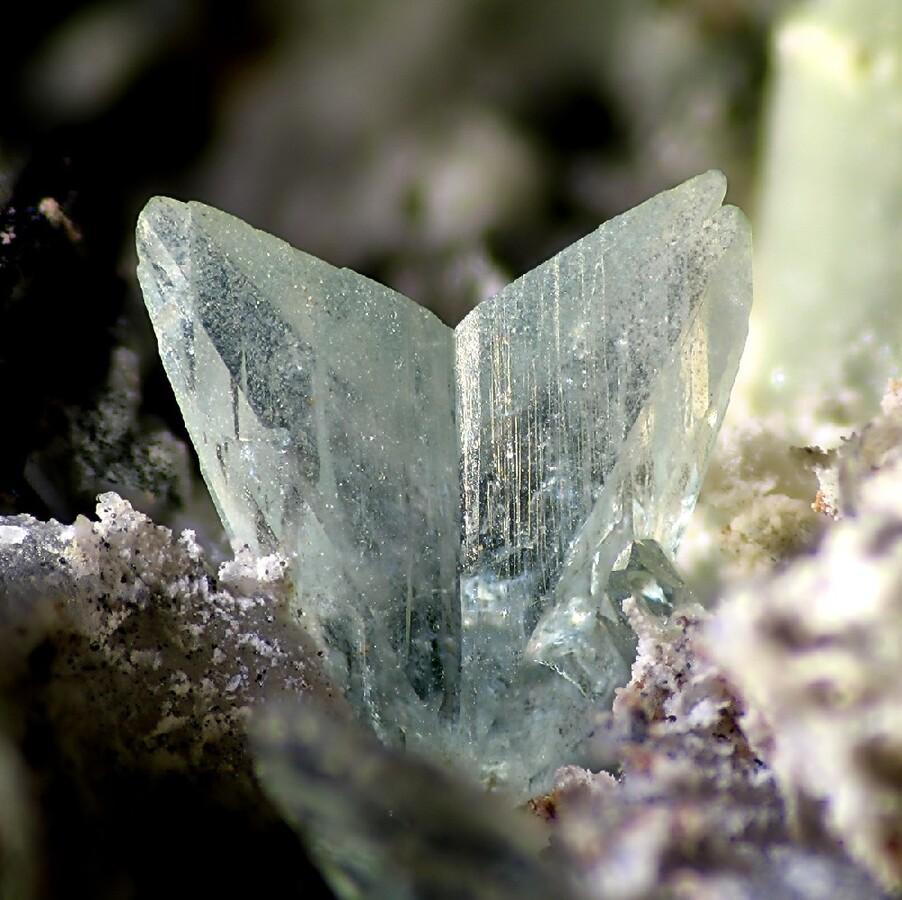 Mineralienatlas Lexikon - Phosphophyllit