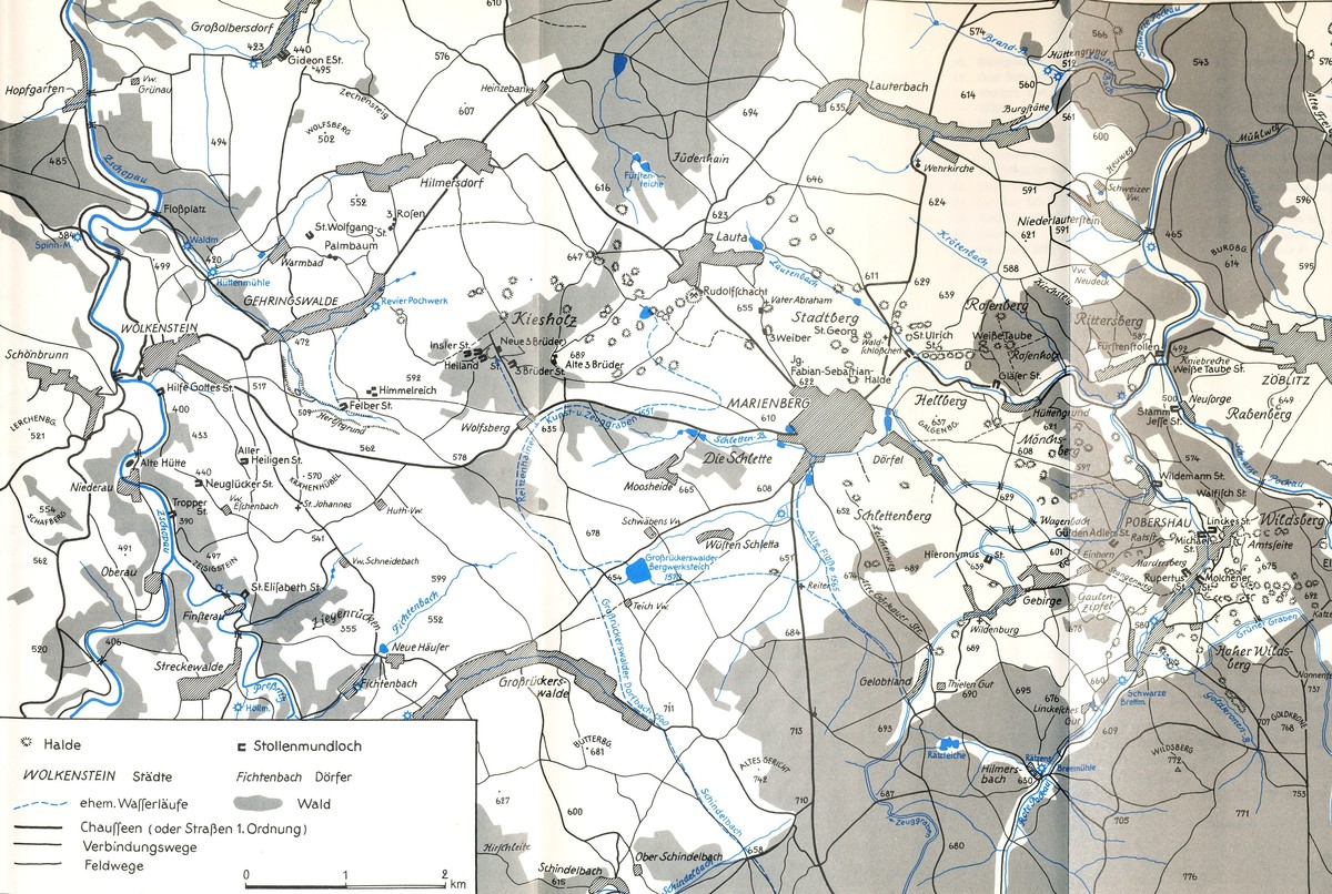 Bergbau Erzgebirge Karte.Mineralienatlas Lexikon Deutschland Sachsen