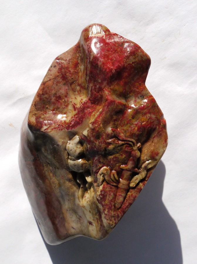 Chicken Blood Stone (Hühnerblut-Stein)