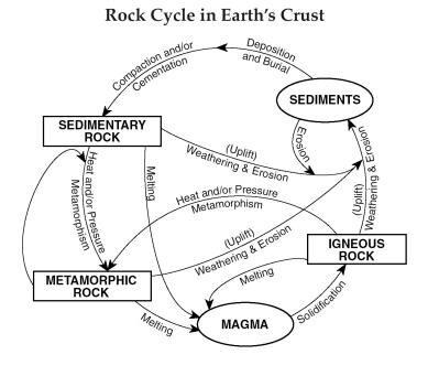 Datierung von Gesteinen mit Fossilien