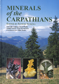 Cover- Minerals of the Carpathians