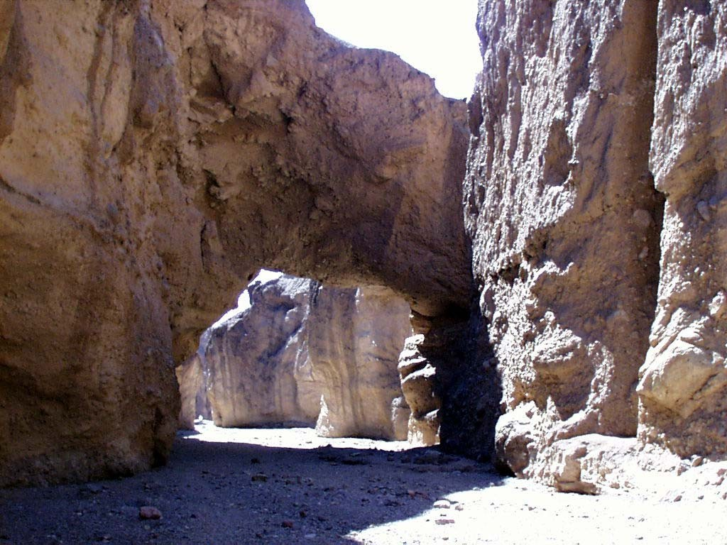 Natural Bridge Canyon - Death Valley