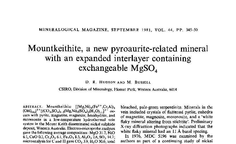 Mineralienatlas - Fossilienatlas - Dokumentsuche
